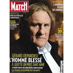 PARIS MATCH n°3318 20/12/2012  Gérard Depardieu/ Tuerie à Newtown/ Baumgartner/ Herzog/ Best of 2012