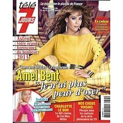 TELE 7 JOURS n°2745 05/01/2013  Amel Bent Le Bon/ The Voice/ Johansson/ Dr House