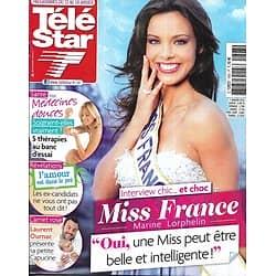 TELE STAR n°1893 12/01/2013  Miss France 2013: Marine Lorphelin/ Laurent Ournac/ Kate Winslet