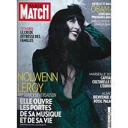 PARIS MATCH n°3320 03/01/2013  Nolwenn Leroy par Kersauson/ Les Obama/ Marseille/ Dalaï-lama/ Ours du Kamtchaka