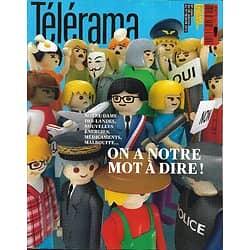 TELERAMA n°3289 26/01/2013  Les citoyens réclament la parole/ Jeffrey Eugenides/ Jack Lang/ Kathryn Bigelow