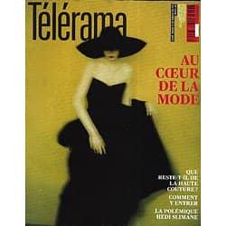 TELERAMA n°3298 30/03/2013  Au coeur de la mode/ Jean Echenoz/ L'homme face aux robots/ Mafias et mondialisation