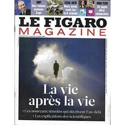 LE FIGARO MAGAZINE n°21246 23/11/2012  La vie après la vie: L'au-Delà/ Lou Reed/ Sud australien/ Montpellier gourmand