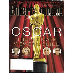 ENTERTAINMENT WEEKLY n°862-863 10/02/2006  Oscars/ Witherspoon/ Ledger/ Sundance/ Aussie actors