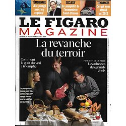 LE FIGARO MAGAZINE n°21276 28/12/2012  La revanche du terroir/ Plongée parmi les requins/ Les vagabonds de l'Arctique
