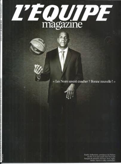L'EQUIPE MAGAZINE N°1593 26 JANVIER 2013  RUDDY NELHOMME/ P.PAPE