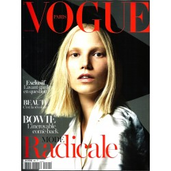 VOGUE n°935 mars 2013  Mode radicale- Suvi Koponen/ David Bowie/ Prada/ Givenchy