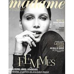 MADAME FIGARO n°21335 08/03/2013  Laetitia Casta/ Special Femmes/ Créatrices & modèles