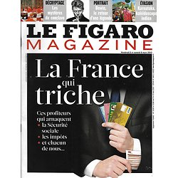 LE FIGARO MAGAZINE N°21335 08/03/2013  La France qui triche/ David Bowie/ Volcan au Kamtchatka/ Boris Johnson