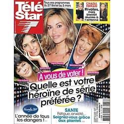 TELE STAR n°1743 22/02/2010  Héroïnes tv: Chauvin, Milot, Duperey, Genest, Amal/ Leonardo Dicaprio/ Poppy Montgomery/ Tom Cruise
