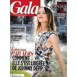 GALA n°1031 13/03/2013  Vanessa Paradis/ Spécial minceur/ Kate Middleton/ Mika
