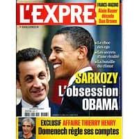 L'EXPRESS N°3047 26 NOVEMBRE 2009  SARKOZY: L'OBSESSION OBAMA