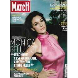 PARIS MATCH n°3316 05/12/2012  Monica Bellucci/ Arafat/ Marseille/ Kurkova/ Sarkozy