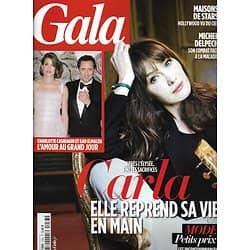 GALA n°1033 27/03/2013  Carla Bruni/ Casiraghi & Elmaleh/ Naomi Watts/ Maisons de stars