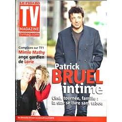 TV MAGAZINE n°21353 29/03/2013  Patrick Bruel/ Mimie Mathy & Lorie/ Simon Baker/ Julianna Margulies
