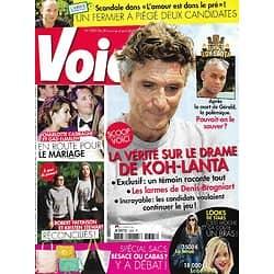 """VOICI n°1325 30/03/2013  Drame sur """"Koh-Lanta""""/ Charlotte Casiraghi & Gad Elmaleh/ Robert Pattinson & Kristen Stewart/ Axel Bauer"""