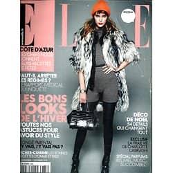 ELLE N°3388 3 DECEMBRE 2010  LES BONS LOOKS D'HIVER/ CASIRAGHI