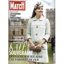 PARIS MATCH n°3336 25/04/2013  Kate Middleton/ Drame de Boston/ Keith Haring/ Karl Lagerfeld/ Otages libérés/ Enfants pickpockets