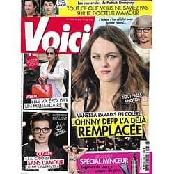 "VOICI n°1330 04/05/2013  Vanessa Paradis/ Ayem/ Olympe ""The Voice""/ Patrick Dempsey/ Spécial minceur/ Mariah Carey"