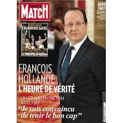 PARIS MATCH n°3338 08/05/2013  Hollande l'entretien/ Audrey Tautou/ Robert Redford/ Maxima des Pays-Bas/ Gina Lollobrigida