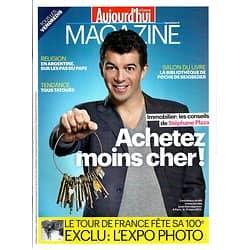 AUJOURD'HUI EN FRANCE MAGAZINE n°4151 22/03/2013  Immobilier: acheter moins cher/ S.Plaza/ Beigbeder & livres de poche