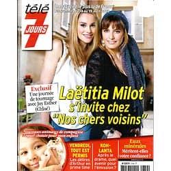 TELE 7 JOURS n°2759 13/04/2013  Laetitia Milot/ Joy Esther/ François Cluzet/ Julie Andrieu/ X-Men