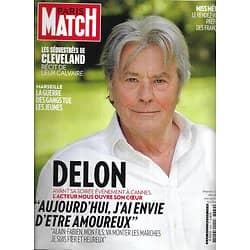 PARIS MATCH n°3339 01/05/2013  Rare: Alain Delon/ David Bowie/ Gatsby/ Léa Seydoux/ Les séquestrées de Cleveland/ Haïti, leçon de vie