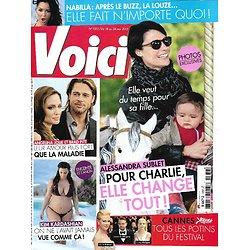 VOICI n°1332 18/05/2013  Alessandra Sublet/ Angelina Jolie & Brad Pitt/ Kim Kardashian/ Nabilla/ Pères malgré eux