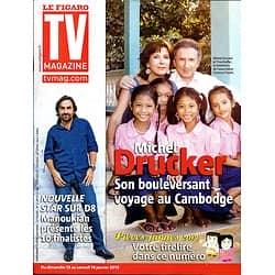 TV MAGAZINE n°21287 11/01/2013  Michel Drucker/ André Manoukian/ Bernadette Chirac