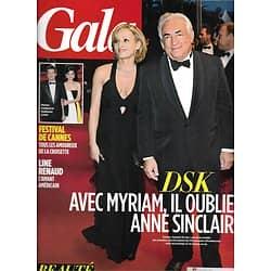 GALA n°1042 29/05/2013  DSK/ Cotillard & Canet/ Spécial Cannes/ Nolwenn Leroy