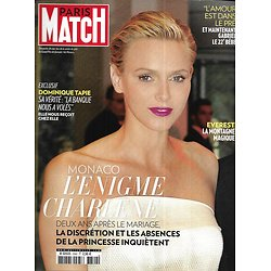 PARIS MATCH n°3342 06/06/2013  Charlène de Monaco/ Everest/ Obama/ Elizabeth II/ Marek Halter/ Dominique Tapie