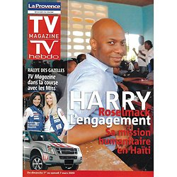 TV MAGAZINE n°1152 01/03/2009  Harry Roselmack/ Rallye des Gazelles/ Miss France