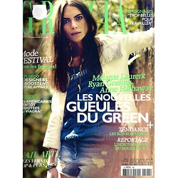 GRAZIA n°194 07/06/2013 Spécial Green/ Libido/ Mélanie Laurent/ Pharrell Williams/ Gipsy Queen