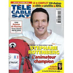 Télé Cable Sat n°1200 04/05/2013  Stéphane Rotenberg/ Ithurburu/ McConaughey/ De Maximy