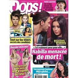 OOPS! n°138 14/06/2013  Nabilla/ Paris Jackson/ Jenifer/ Secret Story/ Spécial Minceur/ Les amitiés du showbiz