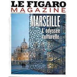 LE FIGARO MAGAZINE n°21430 28/06/2013  Marseille: l'odyssée culturelle Sarkozy: la cible/ Bernard Tapie/ Rome par Lagerfeld/ BHL/ Zadar, en Croatie