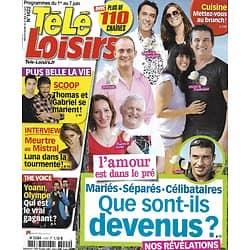 """TELE LOISIRS n°1422 01/06/2013  """"L'Amour est dans le pré""""/ Anne Decis PBLV/ France Gall/ Rihanna/ """"Homeland"""""""