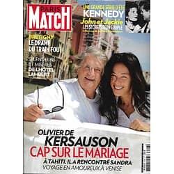 PARIS MATCH n°3348 18/07/2013  Olivier de Kersauson/ Les Kennedy/ Stephanie Gilmore/ John Malkovich/ Déraillement à Brétigny