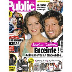 PUBLIC n°392 14/01/2011  Marion Cotillard/ Senna/ Spécial Mecs/ Victoria Beckham/ Heidi Montag/ Victoria Silvstedt