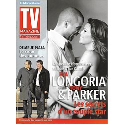 TV MAGAZINE n°20426 03/04/2010  Eva Longoria & Tony Parker/ Jean-Luc Delarue & Stéphane Plaza/ Ophélie Winter