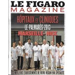 LE FIGARO MAGAZINE n°21424 21/06/2013  Le palmarès Hôpitaux-Cliniques Marseille-Nice / Le Kurdistan libéré/ Serra de Tramuntana/ Les Maniéristes