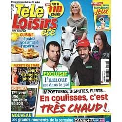 """TELE LOISIRS n°1427 06/07/2013  """"L'Amour est dans le pré""""/ Secrets de stars/ Les Feux de l'amour""""/ """"Bones"""""""