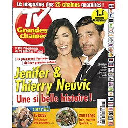 TV GRANDES CHAINES n°269 19/07/2014  Jenifer & Neuvic/ Kerry Washington/ Spécial été