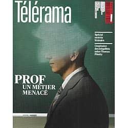 TELERAMA n°3320 31/08/2013  Prof, un métier menacé/ Rentrée littéraire/ Piketty & inégalités