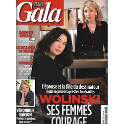 GALA n°1128 21/01/2015  Wolinski/ Charlie Hebdo/ Véronique Sanson/ Meryl Streep/ George Clooney