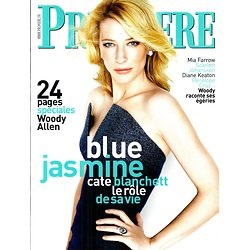 "PREMIERE SUPPLEMENT n°439  ""BLUE JASMINE"" ALLEN-BLANCHETT"