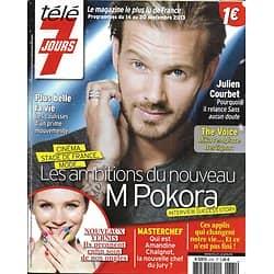 TELE 7 JOURS n°2781 14/09/2013  M Pokora/ Julien Courbet/ Kiefer Sutherland/ Aznavour/ Marine Lorphelin