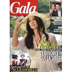 GALA n°1057 11/09/2013  Monica Bellucci/ Benguigui/ Diana/ Diane Kruger/ Tal/ Spécial accessoires