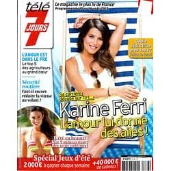 TELE 7 JOURS n°2776 10/08/2013  Karine Ferri/ Bernadette Lafont/ Eric Braeden/ Selena Gomez