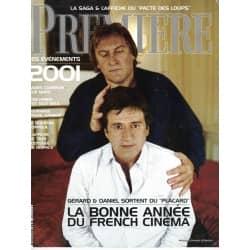 PREMIERE n°287 février 2001 Depardieu & Auteuil/ Pacte des Loups/ Pearl Harbour